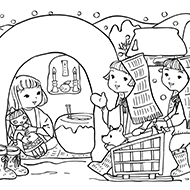 お正月大人の塗り絵教室無料my介護の広場