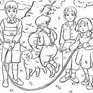 子ども時代大人の塗り絵教室無料my介護の広場