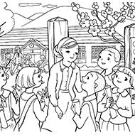 春の塗り絵素材一覧大人の塗り絵教室無料my介護の広場